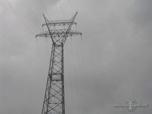 Grote katapult voor 150 kV bij Krimpen aan den IJssel