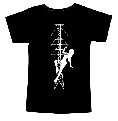 T-shirtopdruk Stevin pole dancer