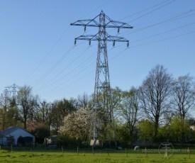 50 kV-mastje bij Ridderkerk