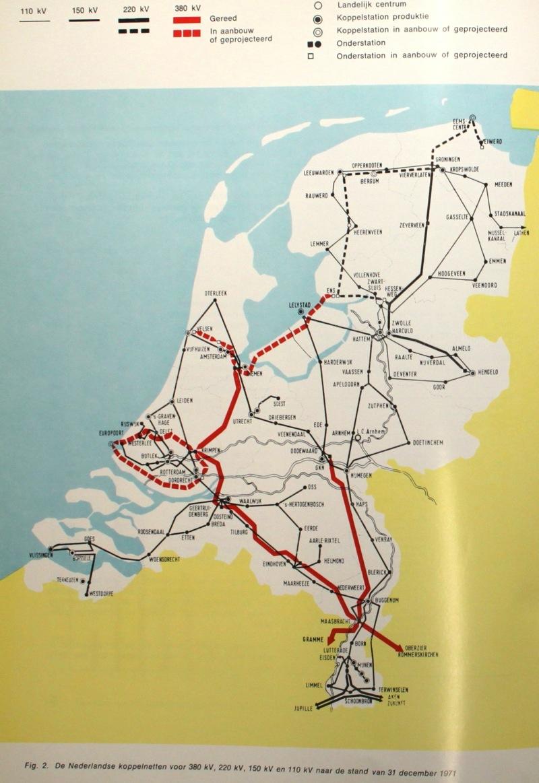 Netkaart van 1971