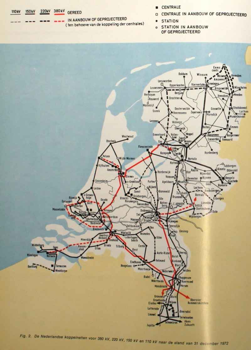 Netkaart 1972