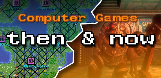 Computer Games Then And Now Feature Hooked Gamers