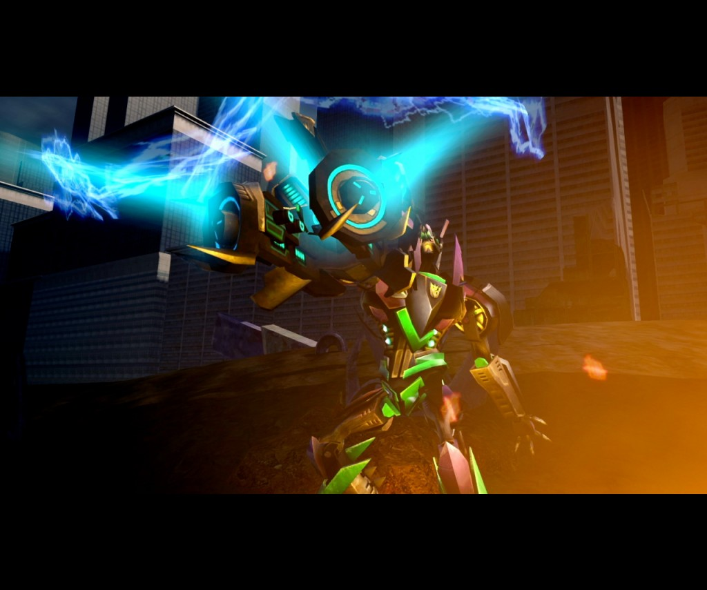 Game Gravity Ps3 Revenge Transformers Fallen Low