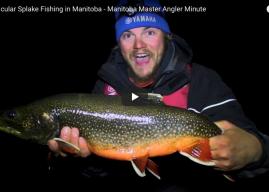 Spectacular Splake Fishing in Manitoba