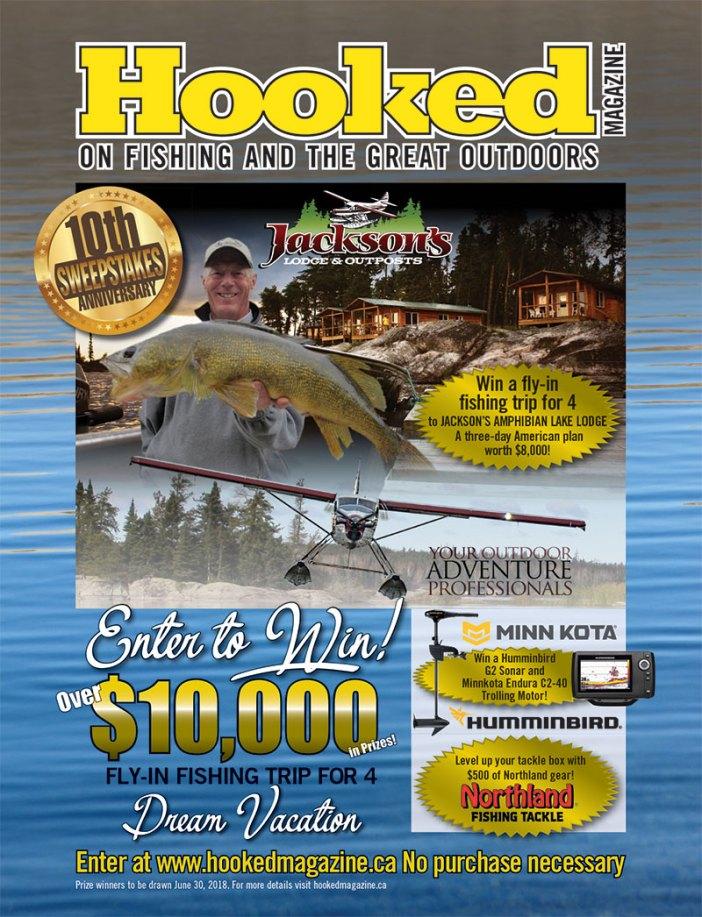 Hooked Magazine 10th Anniversary Sweepstakes! - Hooked Magazine