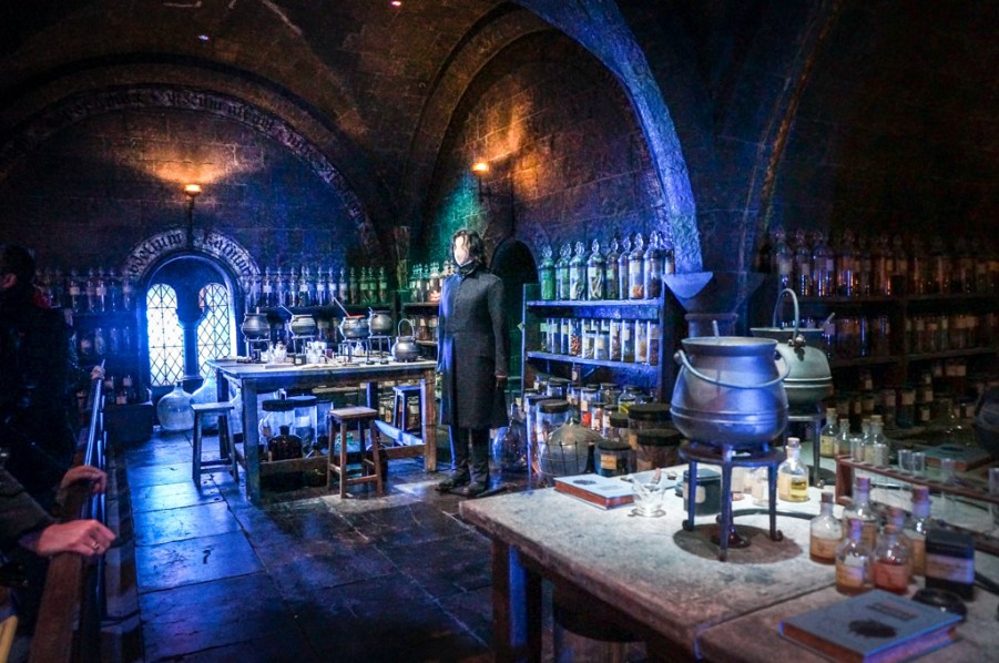 Potions room, harry potter studio tour