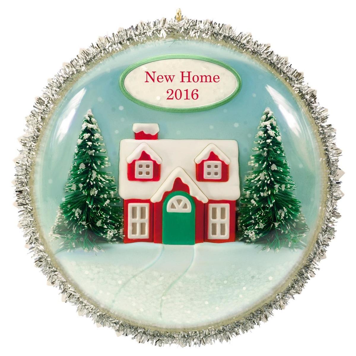 2016 New Home Hallmark Keepsake Ornament Hooked On