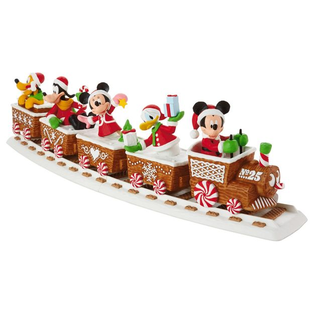 2016 Disney Christmas Train Hallmark Keepsake Ornament