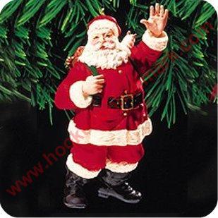 1999 Merry Olde Santa 10 Hallmark Ornament