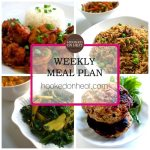 Weekly Meal Plan: Oct 12th – 18th