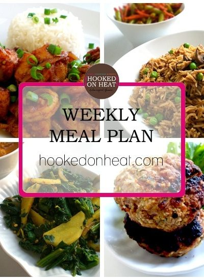 Weekly Meal Plan: Nov 21st – 27th, 2016
