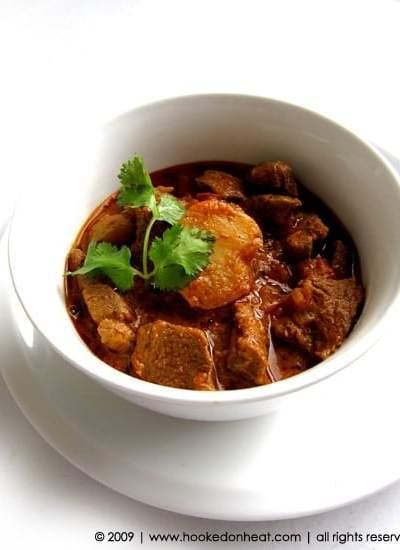 Lamb & Potato Curry