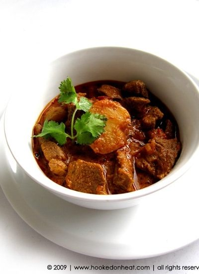 Lamb & Potato Curry