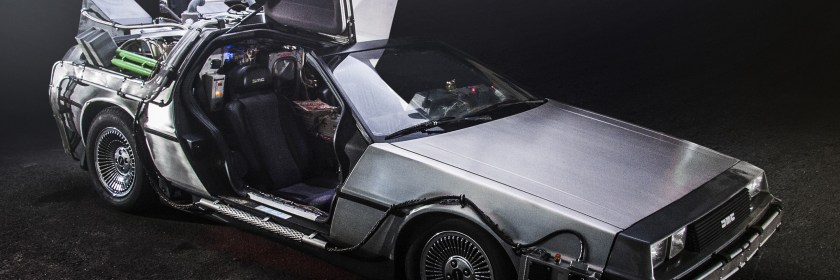 Paul Nigh's 'TeamTimeCar.com' Back to the Future DeLorean Time Machine
