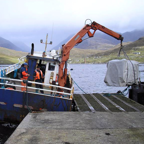 Load Test unsafe on Fish Farm Workboat