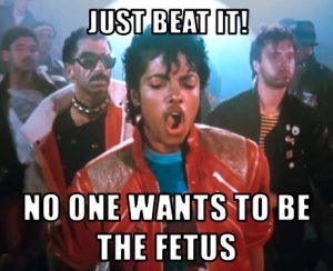 misheard lyrics - Michael Jackson, Beat It