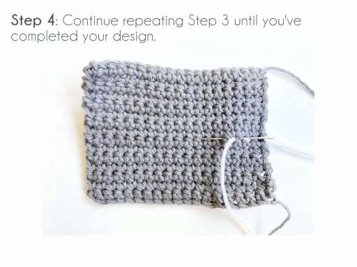 Step 4: Continue repeating Step 3 until you've completed your design.