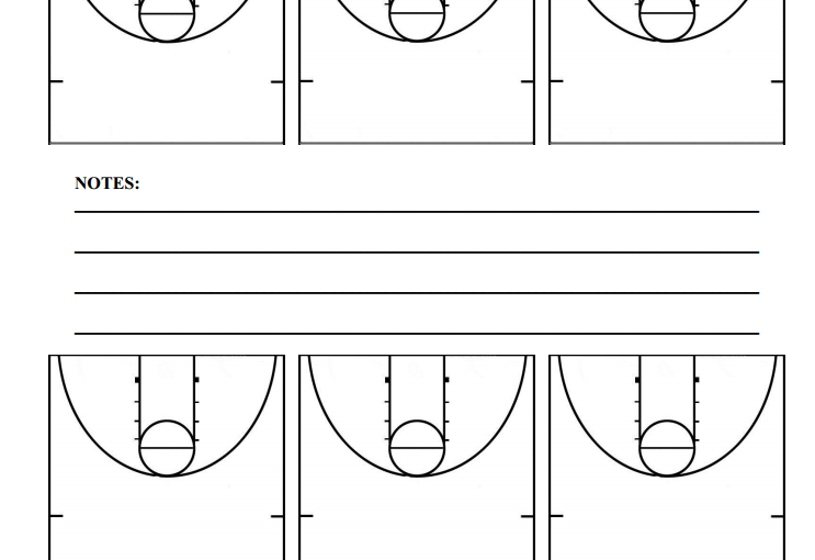 Half Court Basketball Diagrams Hoop Coach