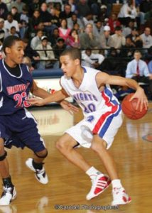 Stephen Curry high school