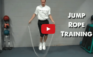 Basketball Jump Rope Workout