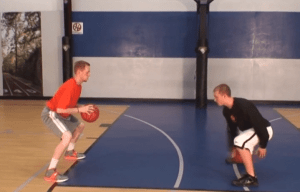 Stationary Ball Handling Routine