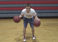 Two Ball Dribbling Workout