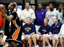 baskteball coaches scouting