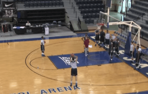 invidual shooting drill