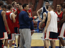 Arizona Basketball Practice