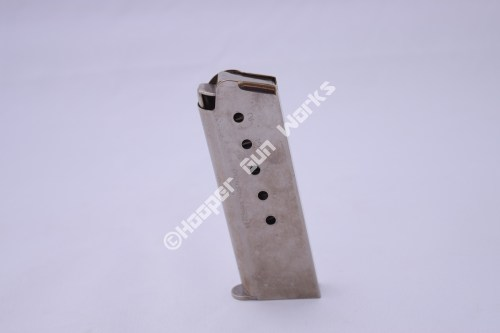M602 6RD ACT-MAG 45ACP 1911 Officer Size – Nickel