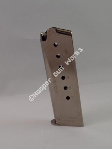 M702 7RD ACT-MAG 45ACP 1911 Full Size – Nickel