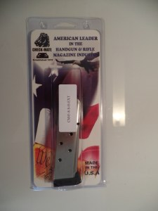 Check-Mate 45ACP 8rd SS Hybrid Extended Full Size 1911 Magazine CM45-8-S-H-EXT