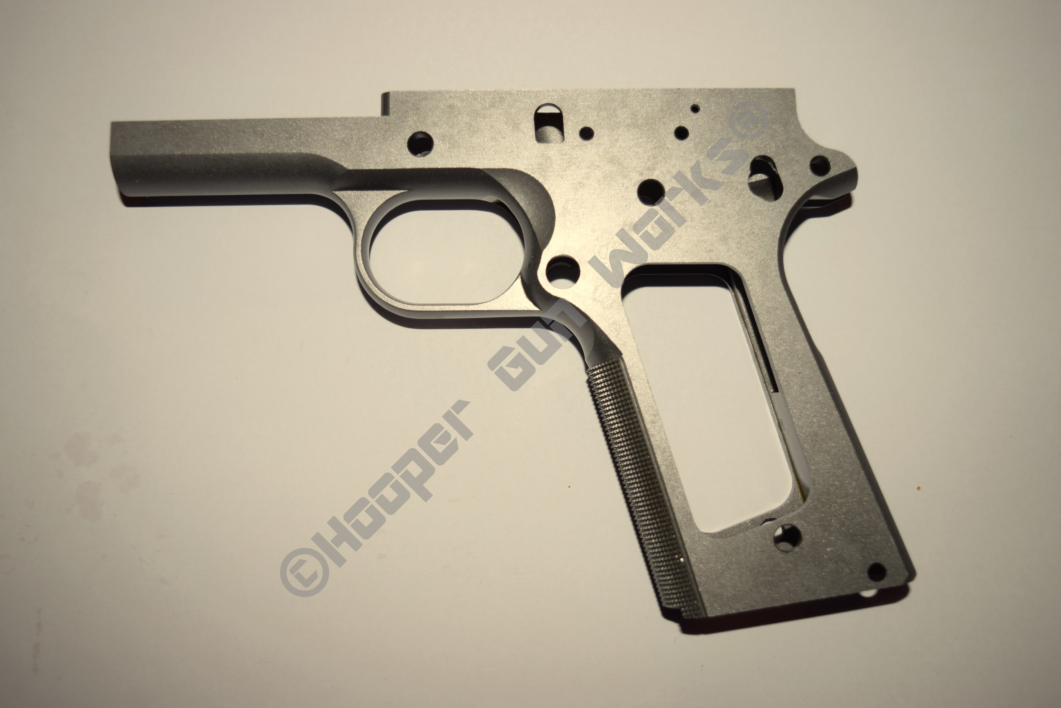 Rock Island Armory Forged Full Size A1 80% Checkered Frame – Hooper ...