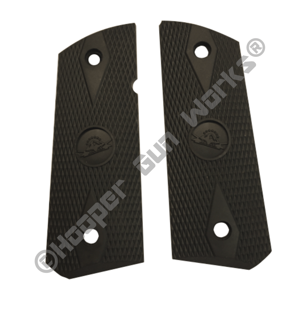 Rock Island Armory OEM 1911 Compact Rubber Grips – checkered