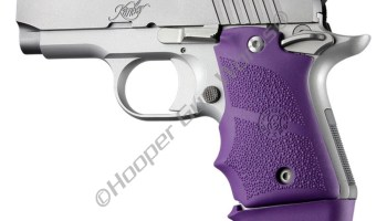 Hogue Grips Kimber Micro 9 Ambi Safety Rubber Grip w/ Finger Grooves