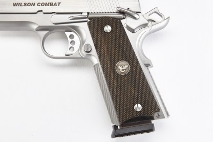 Wilson Combat 351DFS (Grips, 1911 Full-Size, Diamondwood, Fully Checkered)