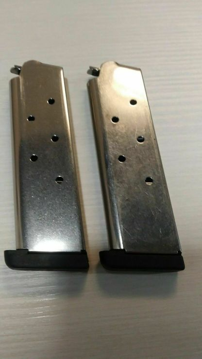 Pair of Checkmate 1911 magazines 45 acp 7rd -- mag #61