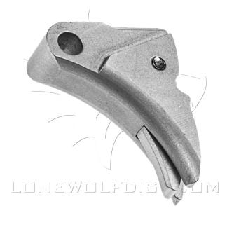 LWD Ultimate Adjustable Trigger - Silver (Bare Trigger Shoe) SEE WEBSITE FOR INSTRUCTIONS