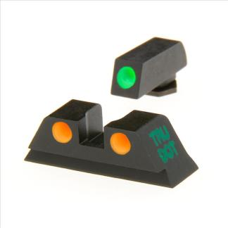 Meprolight Night Sights Grn/Orange +1/6.9