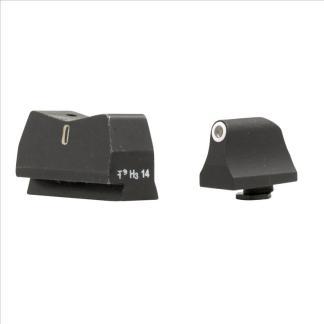 XS 24/7 Standard Dot Tall Set- Tritium Rear w/ Tritium Front