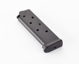 Chip McCormick 1911 Railed Power Mag, .45 ACP, 7Round, Black