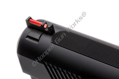 Wilson Combat 367CFOR190 1911 Front Sight Snag-Free Competition Red Fiber Optic .190""