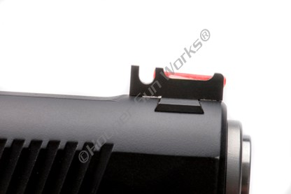 """Wilson Combat 367CFOR160 1911 Front Sight Snag-Free Competition Red Fiber Optic .160"""""""