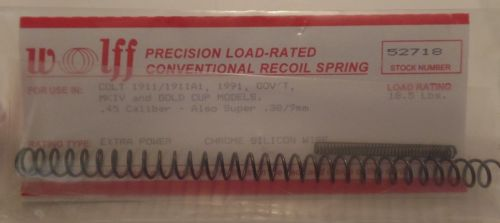 Wolff-1911-Recoil-Spring-185lb-Chrome-Silicon-52718-262148632133