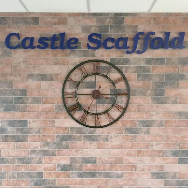 acrylic wall letters