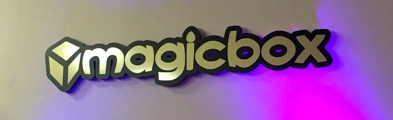 3d acryic letters on wall