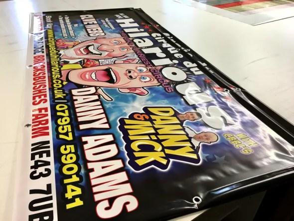Cirque du Hilarious Banners