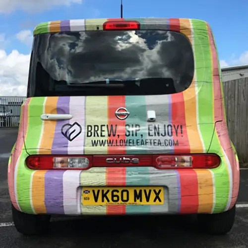 Car Graphics wrap