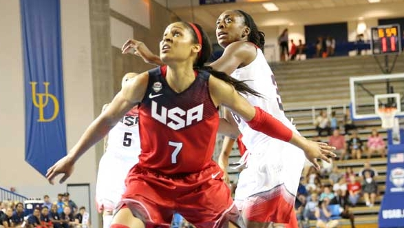 USA Basketball women's national team roster set for exhibition versus Canada
