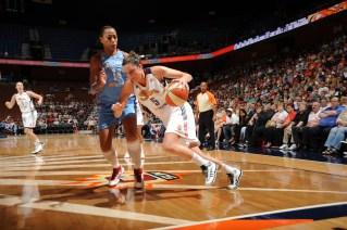 Kelsey Griffin. Atlanta Dream v Connecticut Sun
